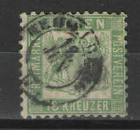 German States - Baden 1864 Sc# 24 Used VG - Solid scarce used issue