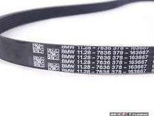 BMW Drive Belt Ribbed V-Belt 6PK1555 E39 520i 523i 528i M52 E38 728i 11287636378