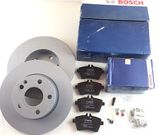 Bosch Bremsbeläge + Bremsscheibe A-Klasse W169 A 150 A 160 A 160 CDI Vorderachse