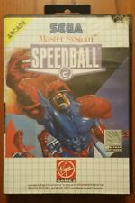 SPEEDBALL 2 SPEED BALL SEGA MASTER SYSTEM 8 BIT PAL EU EUR ITA ITALIANO COMPLETO