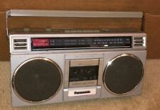 Panasonic RX-4920 BoomBox Radio AM/FM Stereo Cassette Player Working