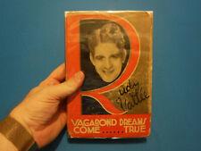Vagabond Dreams Come True- Rudy Vallee, March 1930, 9th printing