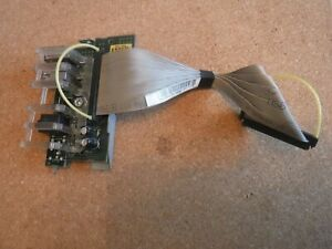 Dell OptiPlex 320 Front I/O Power Button Switch / Audio / USB - R6187 - YF418