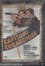 Dvd **CAPITANI CORAGGIOSI** con Spencer Tracy nuovo 1952