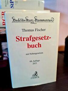 Strafgesetzbuch (68. Aufl. 2021), Fischer, StGB, Kommentar, Referendariat