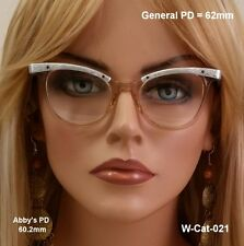 Whitley Cat Eye True Vintage Eyeglasses and Case