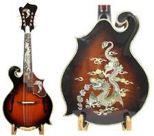 Alulu F5 style Mandolin Solid Maple wood & Spruce top,abalone inlaid,NF5MI29