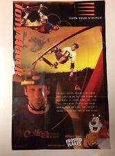 Rare Vintage 2005 Tony Hawk Kellogg's Frosted Flakes Skateboard Poster
