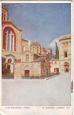Greece Athens Αθήνα - St.Eleutere Church old postcard