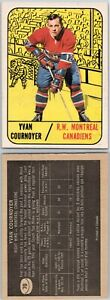 VINTAGE HOCKEY CARD  TOPPS 1967 MONTREAL CANADIENS YVAN COURNOYER NO152