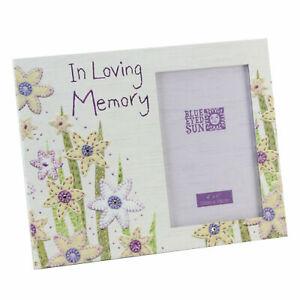 Photo Frame In Loving Memory Floral BE212