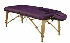 Mt Massage 30 inch Midas Girl Breasts Recess Portable Table Package Spa Purple