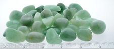SIX Green Quartz Mixed 20-40mm QTY6 Healing Crystals Tumbled Stones Money Wealth