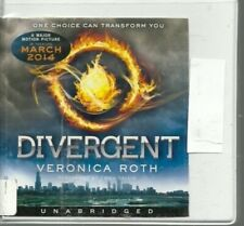 DIVERGENT by VERONICA ROTH ~UNABRIDGED CD'S AUDIOBOOK