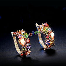 1 Pair Hot Fashion Women Lady Elegant Crystal Rhinestone Ear Stud Earrings
