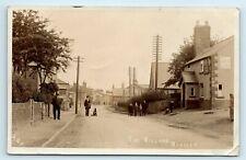 More details for postcard bagillt 1906 flintshire rp of the village animated scene social history