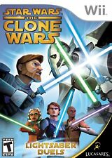 Star Wars: The Clone Wars - Lightsaber Duels - Nintendo  Wii Game