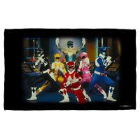 Mighty Morphin Power Rangers TV Show Cast RANGER STANCE Lightweight Beach Towel