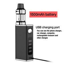 50W Tank Vape Kit Electronic Vape E Pen Cigarettes Mini Starter Kit W/ Battery