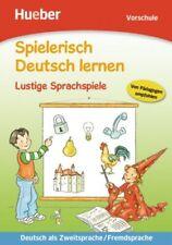 Spielerisch Deutsch lernen - Lustige Sprachspiele für Kinder in der Vorschule