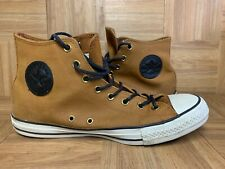 RARE🔥 Converse All Star Chuck Taylor Sz 11 Ginger Brown Suede Leather 153807C
