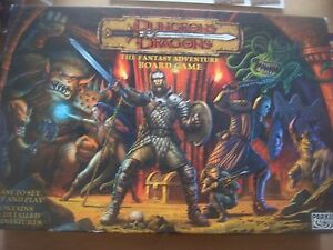 Parker Dungeons & Dragons Board Game Spare Playing Pieces / Parts / Instructions
