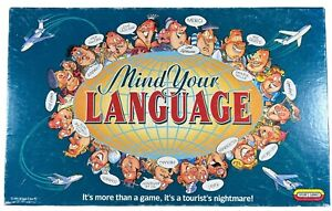Vintage Mind Your Language Board Game by Spear's Games 1992 | Complete