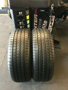 X2 225 50 18 Pirelli Cinturato P7 RSC BMW MINI RUN FLAT 6.5-7mm++!!!(2864)