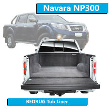 BEDRUG Fits: Nissan Navara NP300 (2014-Current) - Tub Liner - Dual Cab Ute