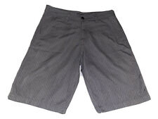 """Rip Curl Men's Sz 34 """"Live The Search"""" Walking Shorts Brown Muted Stripes"""