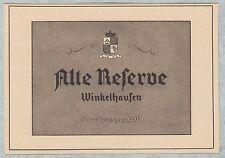 PR. STARGARD, Werbung 1939, Winkelhausen Deutscher Weinbrand Alte Reserve
