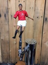 Manchester United Beer Keg Tap Handle Soccer Roy Keane MUFC RED Jersey Ireland