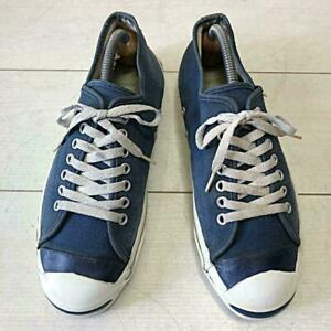 Converse Jack Purcell Tsun Sneakers Navy Blue US 8.5 Men Made In Usa 80S Vintage