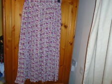 New Look Viscose Floral Regular Size Skirts for Women
