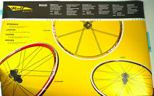 "Rolf Wheelset double sided Poster Wheelset tdf 38""x25"" NOS"