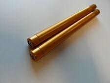 Lenkerrohr Handlebar Set D 22mm x 265mm universal gold inkl. Lenkergewichten