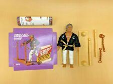 Vintage Remco 1986 The Karate Kid SATO Complete Break-Away Chain Action Figure