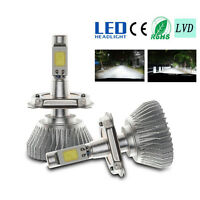 60W 6000LM H1 H4 H7/11 LED Light Headlight Vehicle Car Hi/Lo Beam Bulb Kit 6000k