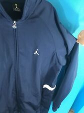 Nike Air Jordan Jumpman Full Zip Jacket Men's Size XXL Navy  Blue White