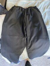 Cherokee Scrub Pants, Size Med, Black, Guc
