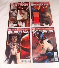 Amazing Spider-Man Presents American Son 1 2 3 4  1-4 NM- Iron-Patriot Prototype