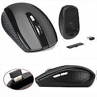 2.4GHz Wireless Cordless Mouse Mice Optical Scroll For PC Laptop Computer GREY