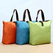 PORTABLE FOLDING LARGE SHOPPING BAG WATERPROOF OXFORD CLOTH HAND POUCH SMART