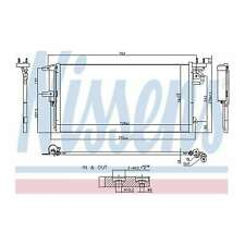 Fits Ford Kuga MK2 2.0 TDCi Genuine OE Quality Nissens A/C Air Con Condenser