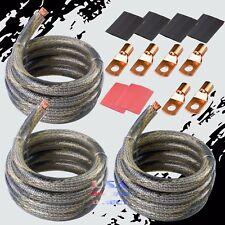 BIG 3 Upgrade 2 AWG Gauge OFC Copper SNAKE Cable Alternator Electrical Wire Kit