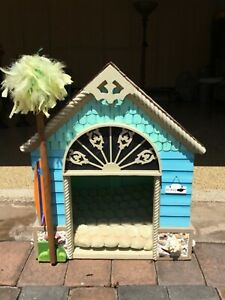 Handmade Custom 1-of-a-kind Wood Dog/Cat Beach House/Pet Shelter-Over $500 new