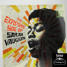 Sarah Vaughan – The Explosive Side Of Sarah Vaughan 1963 lp SR 52092 Jazz - VG