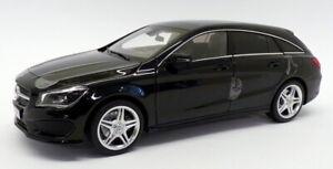 Norev 1/18 Scale 183598 - 2015 Mercedes Benz CLA Shooting Brake - Black