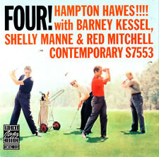 Hampton Hawes ! With Barney Kessel, Shelly Manne & Red Mitchell ‎- Four! - CD