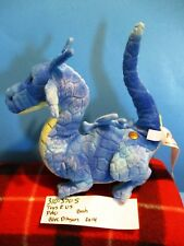 Toys R Us FAO Blue and Yellow Dragon 2014 plush(310-3705)